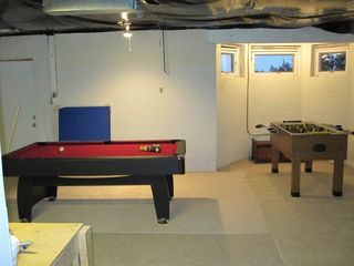 Annapolis house photo - Basement Pool Table, Foosball Table, walkout to backyard