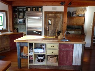 Whistler chalet photo - Kitchen Island with laundry access