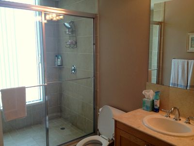 Galveston condo rental - Master Bath