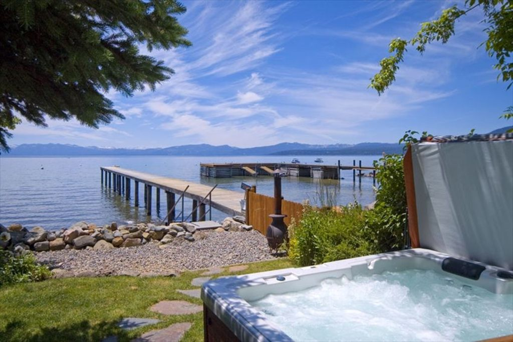 Magnificent Lakefront Home Hot Tub Buoy Vrbo