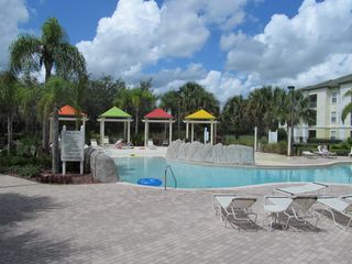 Kissimmee condo photo - Partial view of Pool area