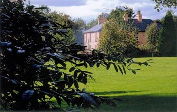 Lawn, Gardens and Manor House