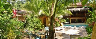 Puerto Viejo bungalow photo - Panorama of massage area, pool and terrace to relax