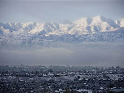 Cottonwood Heights townhome rental - View of the valley from your door