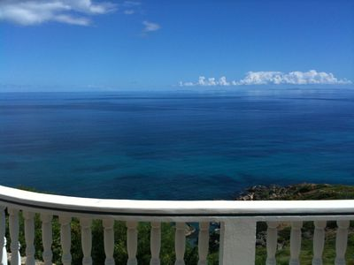Looking to St Croix from the main balcony.