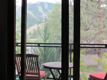 Enjoy the view of Mt Baldy from the deck, living and master