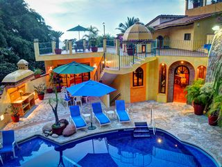 Entrance to Villa and Pool Area - Puerto Vallarta villa vacation rental photo