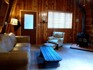Flagstaff cabin photo - Comfortable living area