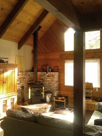 Arnold cabin rental - Nestled In - Beautiful home nestled in the Stanislaus National Forest.