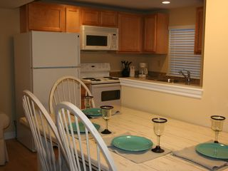 Kennebunkport condo photo - Kitchen dining area