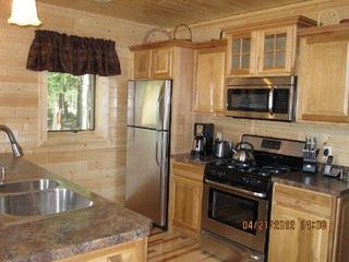 Munising cottage photo - Stainless steel appliances and HIckory floors throughout!