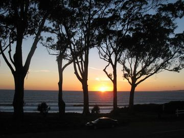 La Selva Beach house rental - Sunset from your living room, kitchen, lower and upper deck
