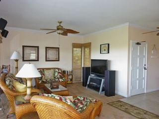 Poipu condo photo - Beautifully furnished including large flat screen TV and surround sound stereo