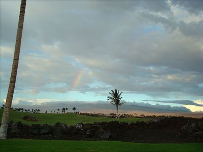 Rainbow from Lanai - always brings good luck