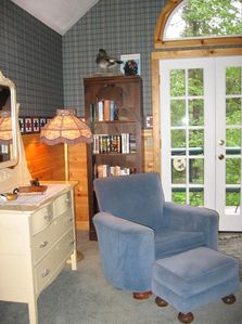 Reading nook in Master Bedroom