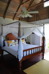 Gingerland villa photo - Master Bedroom with en-suite and verandas