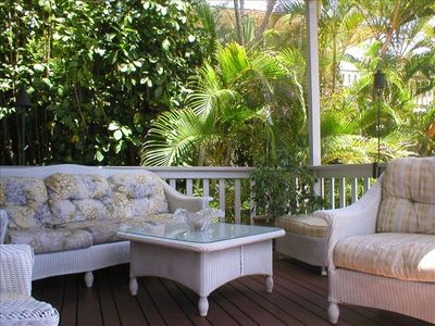 Tropical Oceanview Veranda
