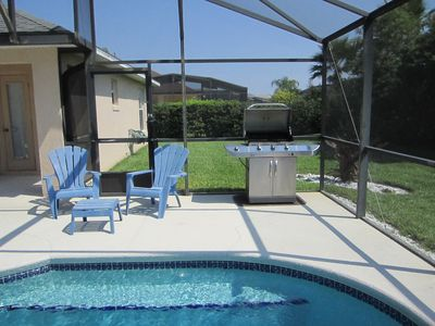 Private South Facing Pool. Full sun from early morning until late afternoon. BBQ