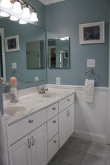 Montauk house photo - Double Sink In Master Bathroom