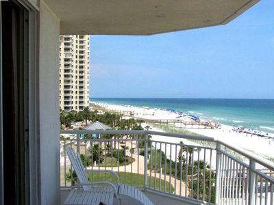 180 degree views of the gulf from our 3rd Floor End Unit Condo