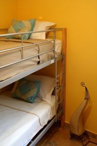 Agadir villa rental - Bedroom with Bunkbeds