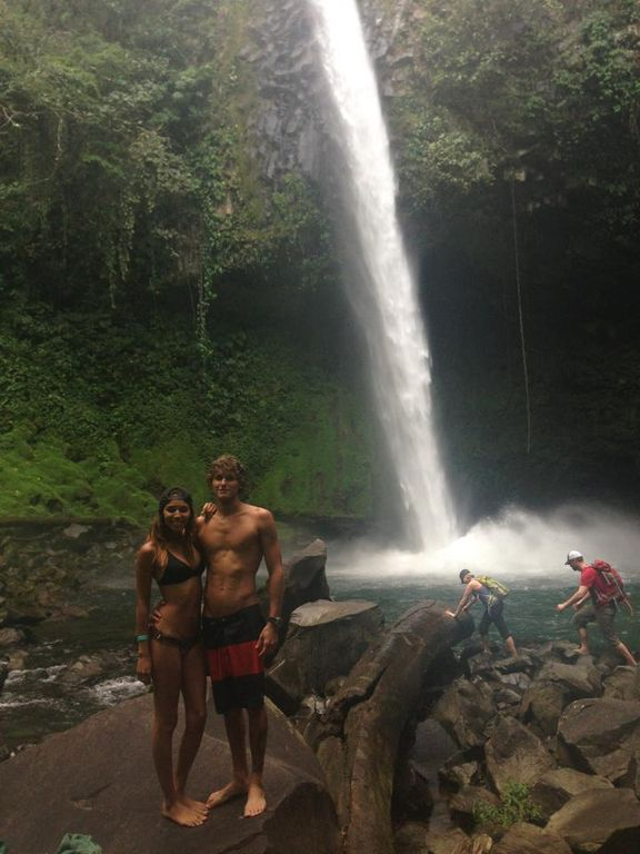 Arenal Waterfall Hike