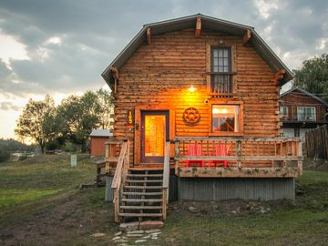 Pagosa Springs cabin rental - View from 7th Street