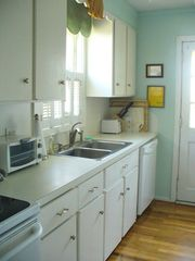 2nd floor kitchen with ocean view - Isle of Palms house vacation rental photo