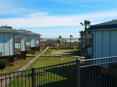 2 bedroom 2 bath spacious condo in a nice beachfront complex.