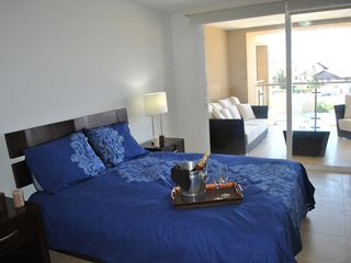 Aruba condo photo - 2nd Master Bedroom with Queen Size bed and view/access to Balcony