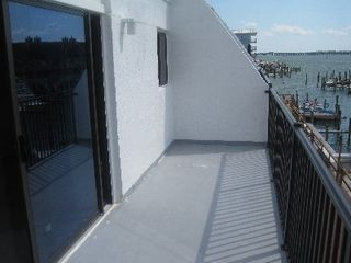 Mariners Wharf condo photo - Large balcony.