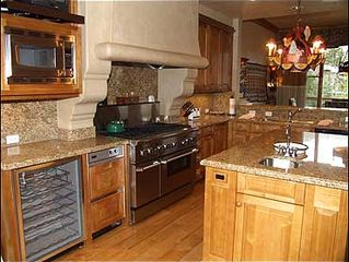 Snowmass Village house photo - Large Gourmet Kitchen with Viking Range
