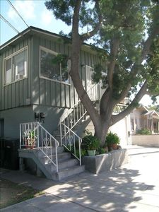 Mission Hills apartment rental - View of our unit from the street.