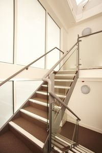 Bright and Airy Stairwell