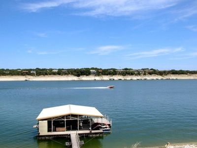 Great Location--deep (even with the drought) & beautiful Lake Travis,  Lakeway.