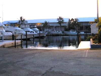 Key Largo condo rental - Marina Boat Ramp