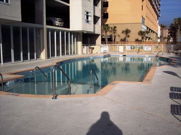 Crescent Beach condo rental - Oceanfront pool