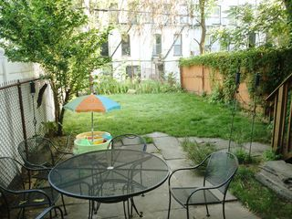 Brooklyn apartment photo - Garden