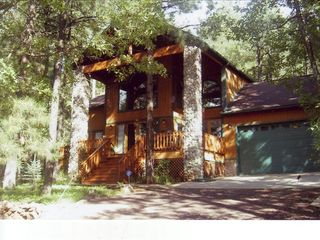 Pinetop cabin photo - Summer at the Ponderosa Lodge