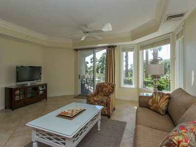 Spacious Living Room at 2102 Sea Crest