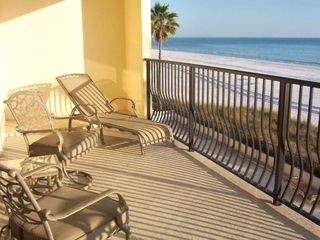 Madeira Beach condo rental - Balcony spans Sun, Sand, and Vistas!