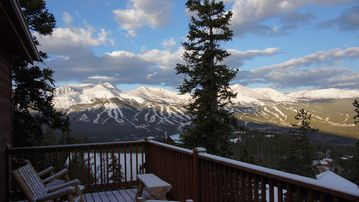 Woodmoor Breckenridge house rental - View from the upper deck