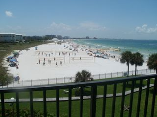 St Pete Beach condo photo - Saturday morning volleyball games.