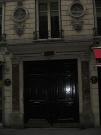 Quiet Studio Steps Away from Champs Elysees with A/C - front door of the building