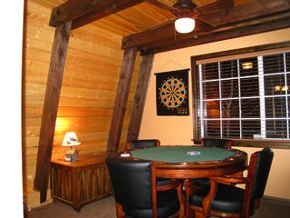 Big Bear Lake house photo - Poker card table and game area