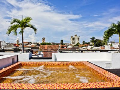 Jacuzzi - Top terrace (3rd Floor)