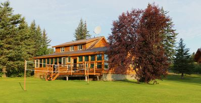 Uniquely Alaska, Real Log Vacation Homes Located On A Natural 14 Acre Homestead.