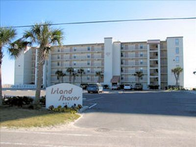Island Shores is a gulf front, budget friendly 2 bedroom condo