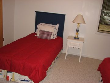 Three bedrooms have twin beds - Two bedrooms have queen beds