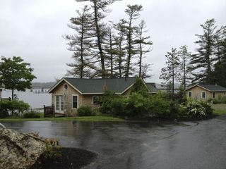 Wiscasset cottage photo - Cottage on the water. Spring Rain 2012.